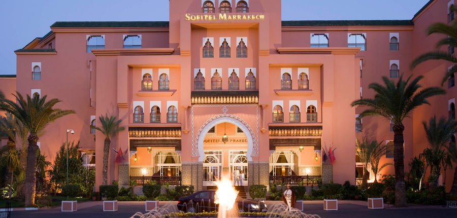 MAXIMUM Golfreisen Hotel Sofitel Marrakesch Lounge & Spa